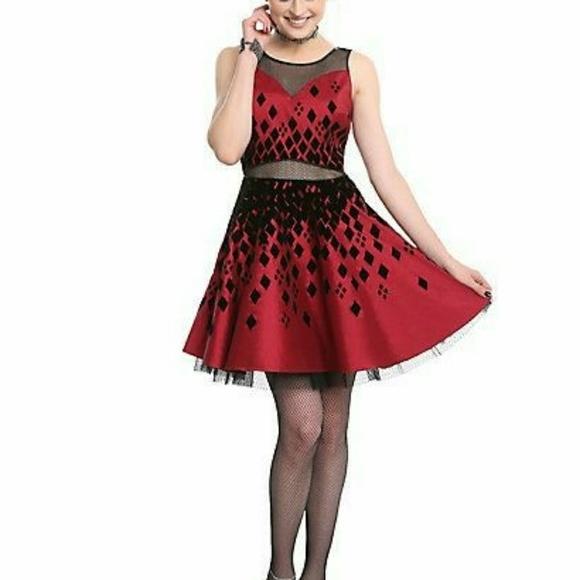 Dresses Hot Topic Harley Quinn Formal Dress Poshmark